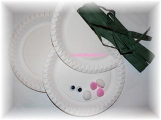 bastelfreaks hasenkorb aus papptellern f r ostern zum nachbasteln. Black Bedroom Furniture Sets. Home Design Ideas
